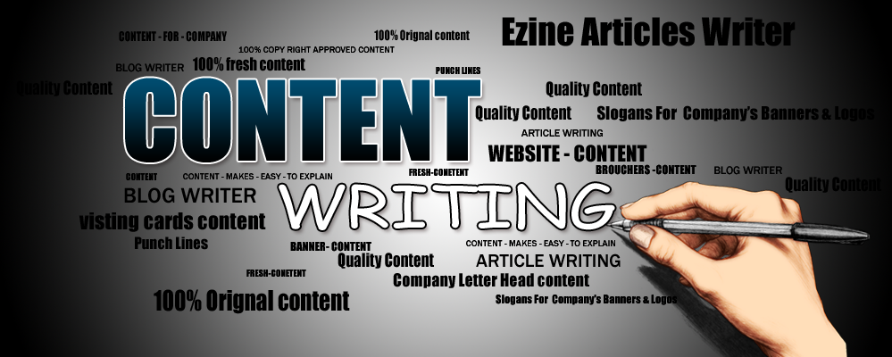 Content writing company writer