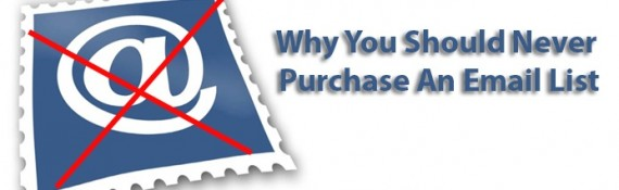 5 Reasons Why Businesses Shouldn't Purchase Email Lists